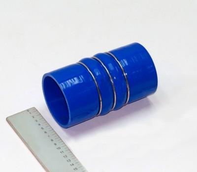 """Патрубок охладителя ЯМЗ-650 (""""Силикон"""", L-150 мм, Д-Р 80 мм)"""