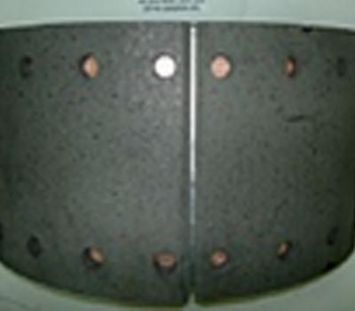 Колодка с накладками на ось 9042 (200 мм)